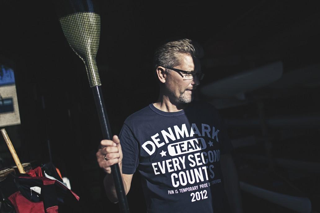 Frank Jensen borgmester der ror kayak