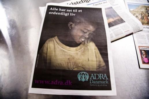 Adra Danmark artikel i Kristeligt dagblad,