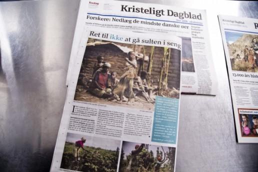 Kristeligt dagblad i Afrika