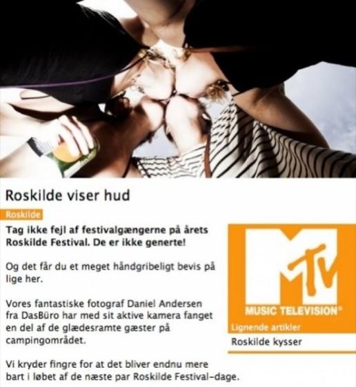 MTV Roskilde Fotograf Daniel Urhøj