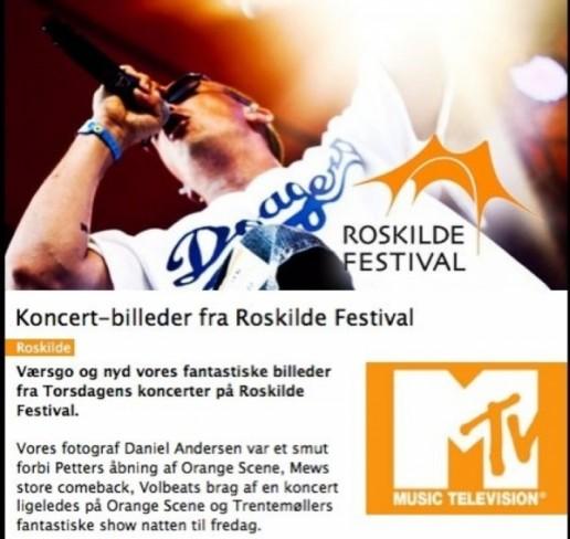 MTV Roskilde Festival