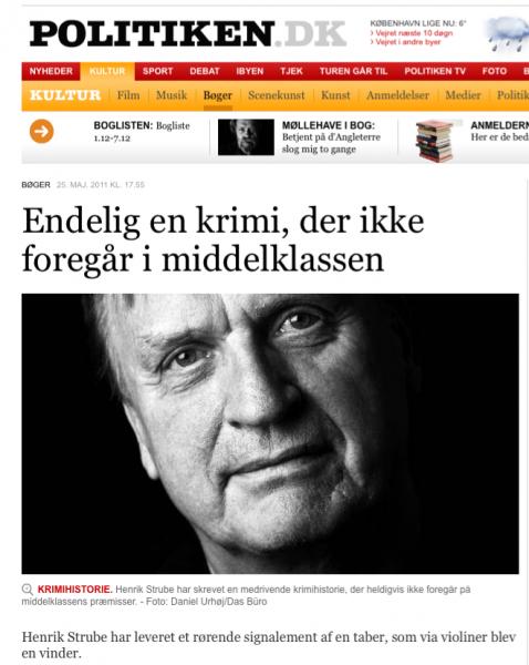Henrik Strube politikken