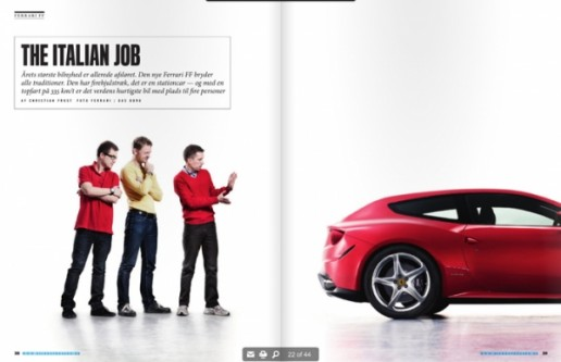 The Italian Job article about cars
