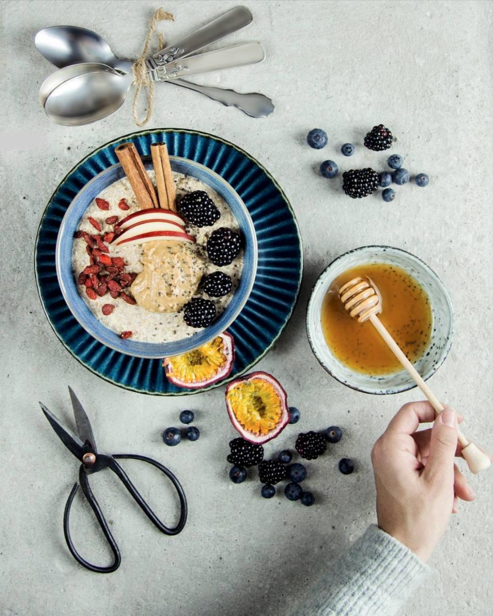 foto af morgen mad, mad fotografering
