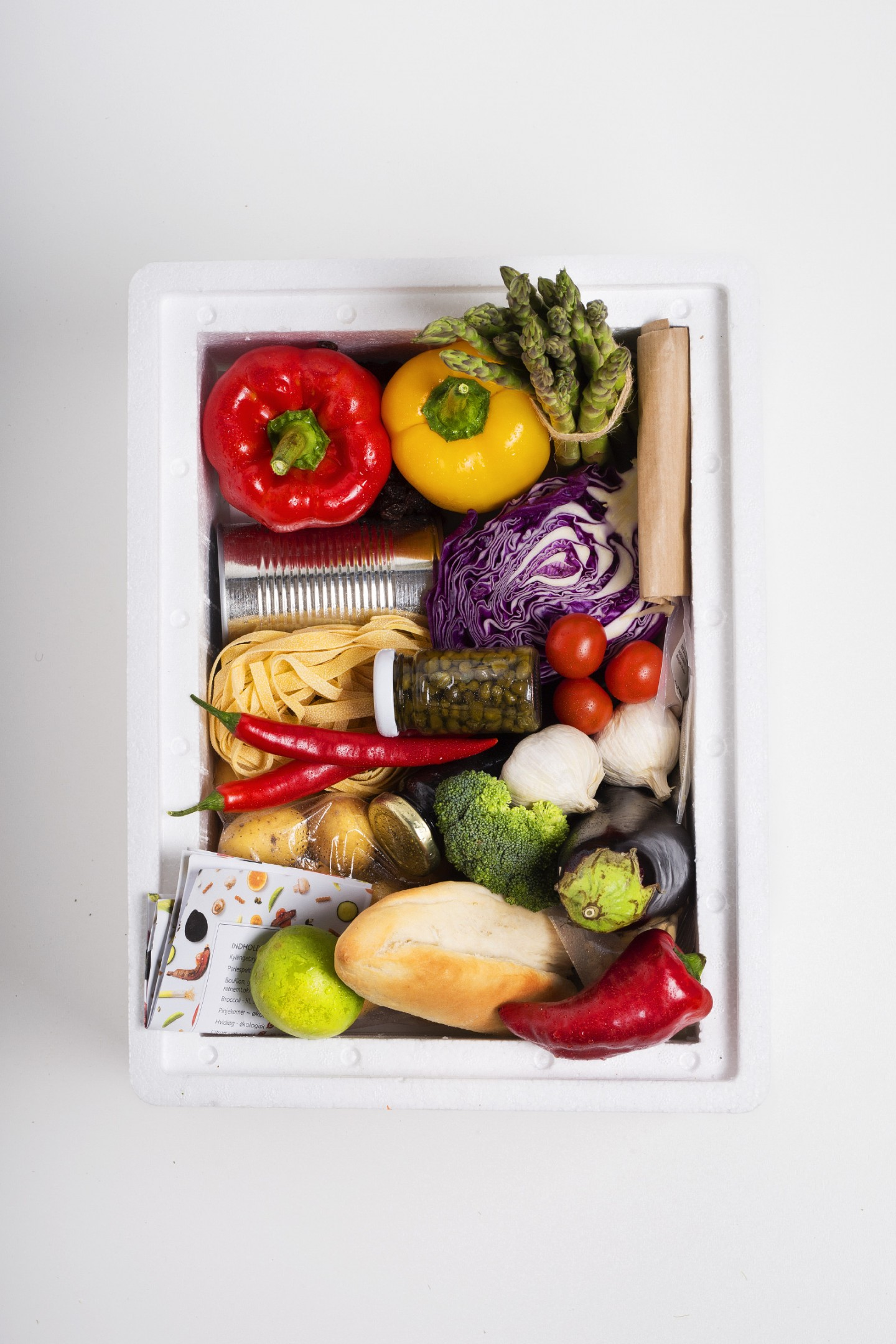 Food Box, mad fotografering