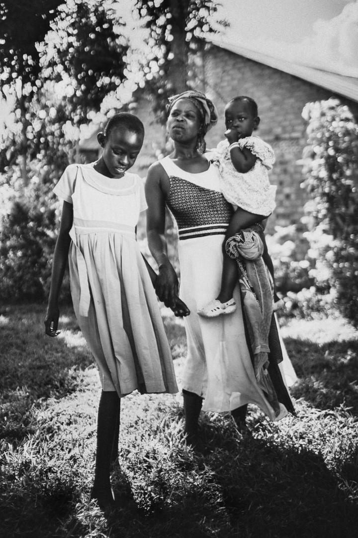 Uganda family sick child
