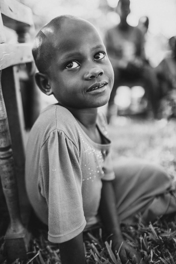 Kid in Uganda