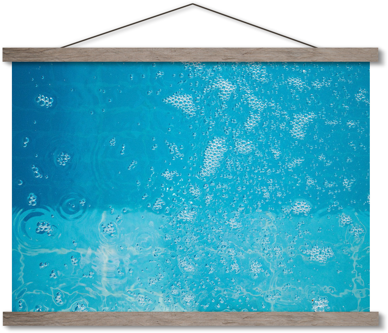 swimming-pool bubbles photoart